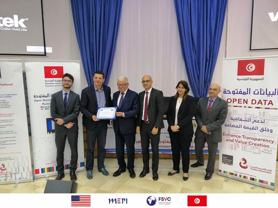 ONSHOR honoré par le Ministre de la Fonction publique dans le cadre de l'Open Gov Week 2019